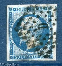 France Napoléon N°14A oblitéré Paris lettres romaines bureau D