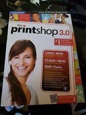 The Print Shop 3.0 Desktop Publishing Software Cards Business Cards Calendars