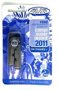 Kool-Stop Campi Super Record 2011 Replacement Road Brake Pads Carbon Fiber Rim