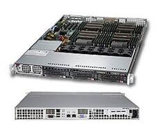 * * * * * SuperMicro SYS-8017R-TF+ 1U Rackmountable Barebone SuperServer
