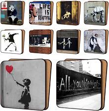 Banksy Impresión Posavasos Paquete de 10-Nuevo Arte Posavasos Muebles, Vajilla conjuntos X