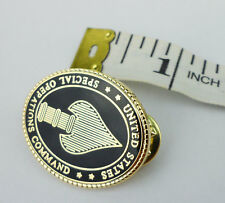 MILITARY MINI US SPECIAL OPERATIONS COMMAND BADGE PIN USSOCOM INSIGNIA-212