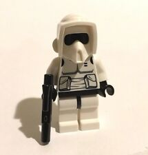 Genuine LEGO Star Wars 7956 8038: Two speeder bike Biker Scout Trooper figures