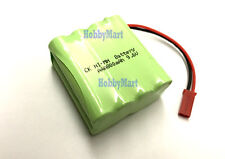 9.6V Ni-MH 800mAh AAA Rechargeable Battery Pack w/. JST plug for RC Boat Car