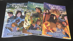 LEGEND OF KORRA RUINS OF THE EMPIRE PART 1 2 3 TPB GRAPHIC NOVEL ONE TWO THREE