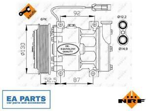Compressor, air conditioning for ALFA ROMEO FIAT LANCIA NRF 32113