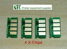 4 Reset Chip  K, C, M, Y for RICOH Aficio SP C220 C220N C220S C222DN C240 C240DN