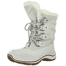 PAJAR ALINA WOMEN WHITE ICE FAUX FUR WATERPROOF WINTER SNOW BOOTS SIZE 39 8 8.5