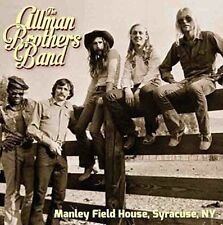 Manley Field House Syracuse NY 1972 The Allman Brothers Band Audio CD