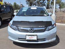 Honda Civic Coupe Sedan 2012 2013 Custom Bra Car Hood Mask / Bonnet + Civic LOGO