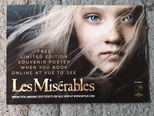 Les Miserables (2013) promotional postcard