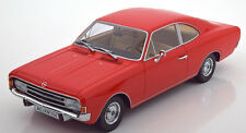 Minichamps 1966 Rekord C Coupe Red Color 1/18 Scale. New In Stock!
