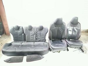 13 Tesla Model S P85 Left Right Front Rear Leather Seat Set