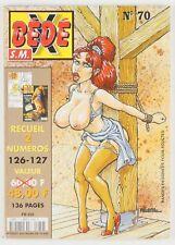 BD adultes  Bédé X N°70, Recueil des numéros 126 - 127