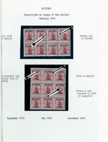 Aitutaki Specialized 1913 Stamp Collection Mint