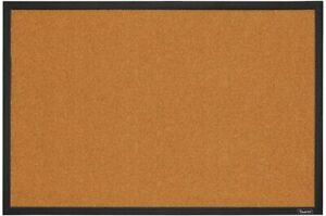 Quartet Cork Board Bulletin Board 2' x 3' Framed Corkboard Black Frame