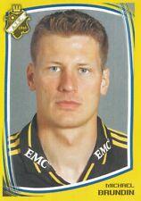 006 MICHAEL BRUNDIN # SWEDEN AIK STICKER FOTBOLL ALLSVENSKAN 2000