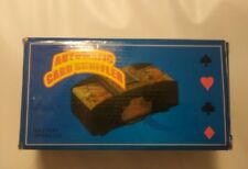 Battery_Operated_Automatic_Playing_Card_Deck_Shuffler_Black_Plastic Used
