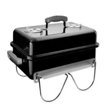 Go-Anywhere Portable Charcoal Grill in Black NEW