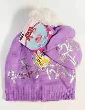 Disney Princess Palace Pets Beanie Hat Mitten Gloves Set Winter *Fast Shipping*