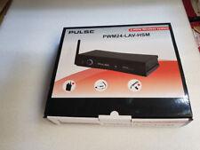 Pulse 2.4ghz Wireless Beltpack Microphone System Headset Lavalier Tie-clip