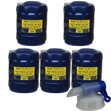 5x 20 Liter MANNOL Getriebeöl Basic Plus 75W-90 API GL 4+ Gear Oil + Auslaufhahn