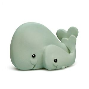 Natural rubber teething toy Whale by Lanco, fully moulded, 0 months+