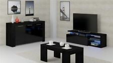 Black 60cm-80cm Height Sideboards, Buffets & Trolleys