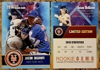 Jacob Degrom 2014 Limited Edition Custom Rookie Trading Card. New York Mets