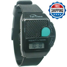 Square III Talking Wrist Watch
