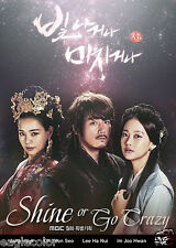 Shine or Go Crazy Korean Drama (6DVDs) Excellent English & Quality!