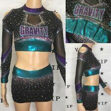 Real Cheerleading Uniform  Allstar Gravity  Youth Xl