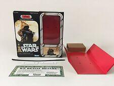 "custom vintage Star wars 12"" jawa box + inserts version 2"