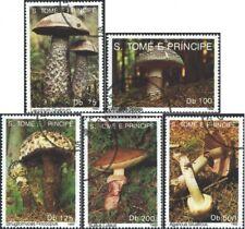 Sao Tome e príncipe 1346-1350 (edición completa) usado 1992 setas