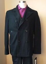 Black Rivet Coats & Jackets for Men Peacoat | eBay