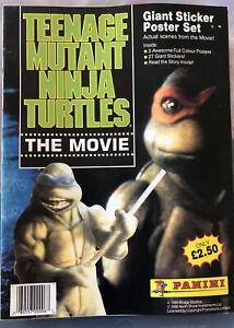 Panini Teenage Mutant Ninja Turtles Movie 1990  Loose Stickers & Album