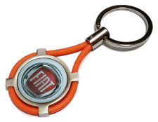 NEW Keychain Fiat Auto Moto keyring 500 Panda point or type
