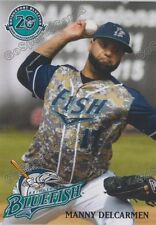 2017 Bridgeport Bluefish Manny Delcarmen Atlantic League Independent