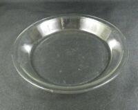 """Vintage Pyrex Clear Pie Plate 9"""" 209 Clean Rim"""