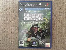 Ghost Recon Jungle Storm - Playstation 2 PS2 NO INSTRUCTIONS UK PAL