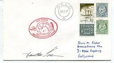 1977 Den Norske Antarktisekspedisjonen Oslo Polar Antarctic Cover SIGNED