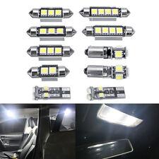 10pcs Car White LED Light Bulb Kit DC 12V For VW MK4 Golf GTI Jetta 1999-2005