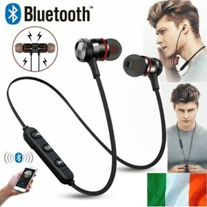 Bluetooth Headphones Magnetic Wireless Stereo Earphones for iPhone Samsung HTC