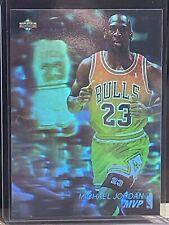 1991-92 Upper Deck Award Winner Holograms Sticker #AW4 Michael Jordan MVP