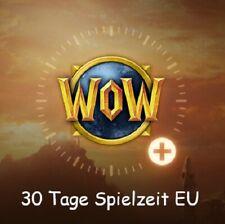 WoW - World of Warcraft EU 30 Tage Spielzeit / Gametime / Prepaid