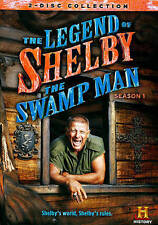 The Legend Of Shelby The Swamp Man: Season 1 [DVD], Excellent DVD, ,