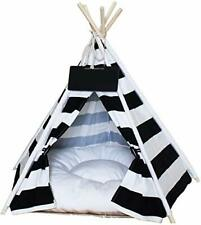 Saim Dog Teepee Tent Portable Cat/Dog Bed Quickly Assembled Disassembled Cat .
