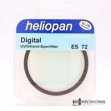 Heliopan 72mm Digital UV-IR Cut Filter + Case - New Old Stock