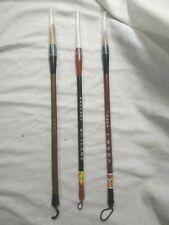 Japanese Calligraphy Natural Bristle Brushes