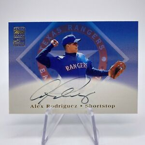 Topps Alex Rodriguez Texas Rangers Baseball Cards For Sale Ebay